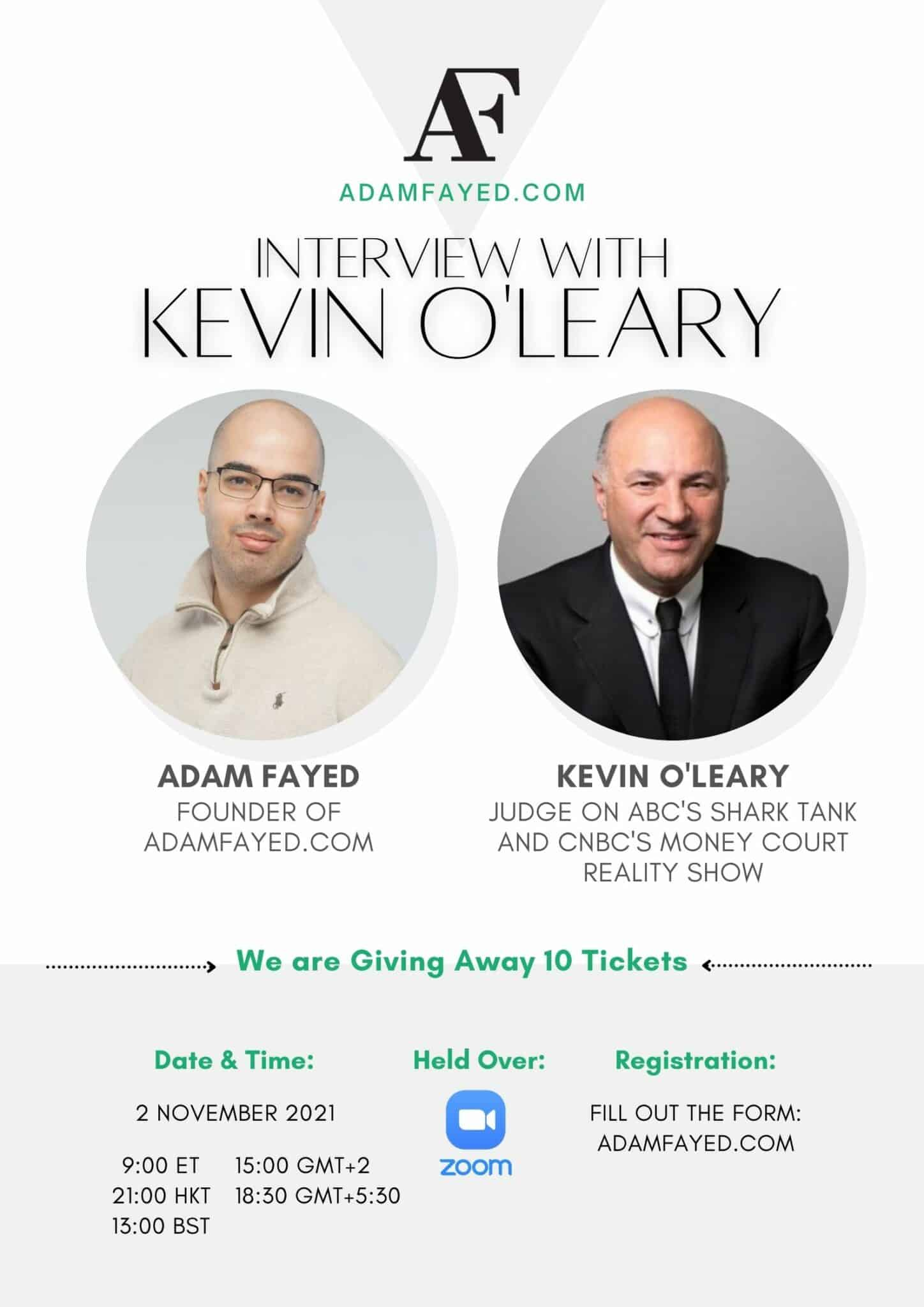 Interview with Kevin O'Leary